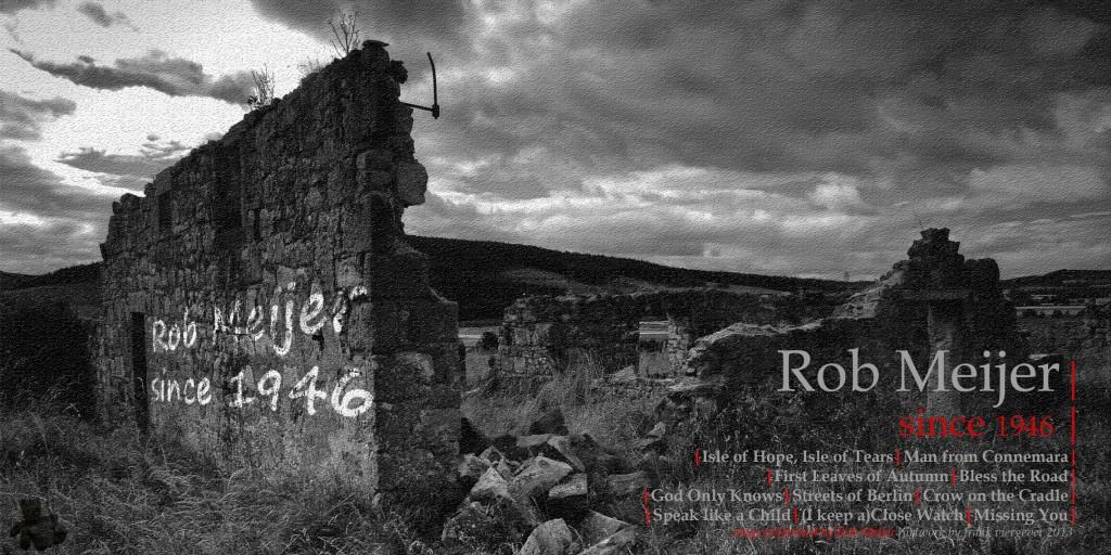 CD hoes voor de muziek van Rob Meijer. Originele print in kleine oplage (25), genummerd en gesigneerd. Te koop tijdens de finnisage van Made in Vlissingen op 7 april 2013 in deWillem3